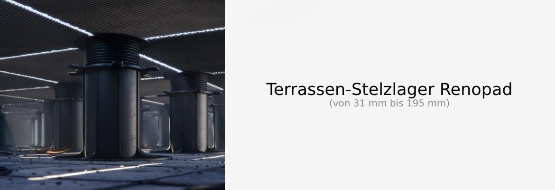 Terrassen-Stelzlager Renopad